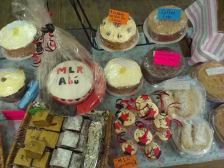 Even the homebaking got the Rangers treatment! by Julie Murphy of Borris Food and Craft Market