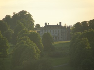 Borris House in the evening Summer sun